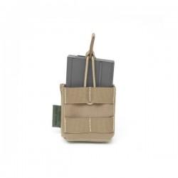 Single MOLLE 7.62 x 51mm Open Short - Coyote Tan