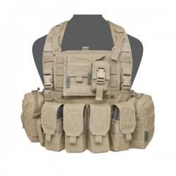 901 Elite Ops M4 Bravo Chest Rig - Coyote Tan