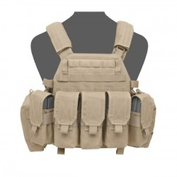 DCS M4 Plate Carrier- Coyote Tan
