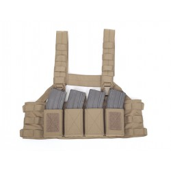 Low Profile Chest Rig - Coyote Tan