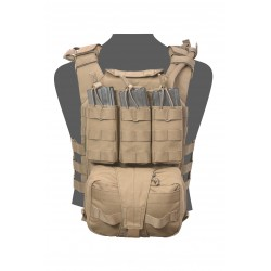 Assaulters Back Panel - Coyote Tan