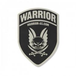 Rubber Logo Shield - Black