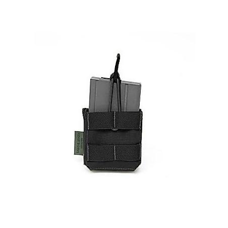 Single MOLLE 7.62 x 51mm Open Short - Black