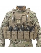 RICAS Compact Plate Carrier & Combos Coyote Tan