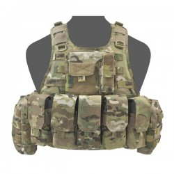 RICAS Compact M4 Plate Carrier - MultiCam