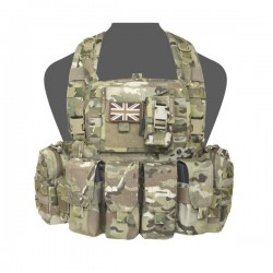 901 Elite Ops Bravo M4 Chest Rig - MultiCam