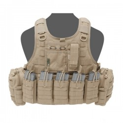 RICAS Compact DA 5.56mm Plate Carrier Coyote Tan