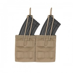 Double MOLLE Open AK 7.62mm - Coyote Tan