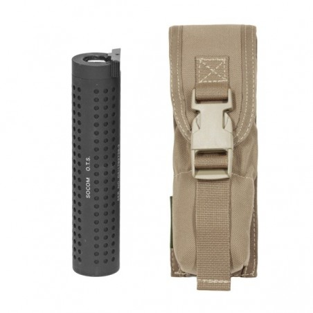 Large Torch Suppressor Pouch - Coyote Tan