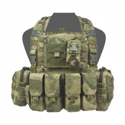 901 Elite Ops M4 Bravo Chest Rig - A-TACS FG