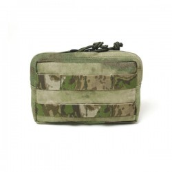 Small Horizontal MOLLE Pouch - A-TACS FG