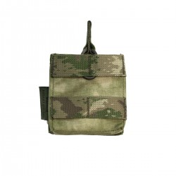 Single MOLLE 7.62 x 51mm Open Short - A-TACS FG