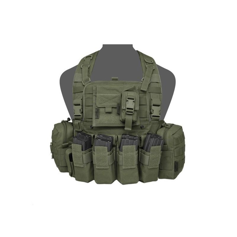 901 Elite Ops M4 Bravo Chest Rig - Olive Drag