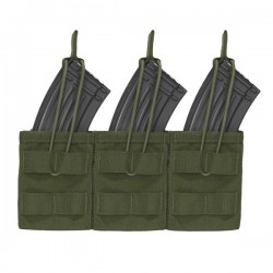 Triple MOLLE Open AK 7.62mm - OD Green