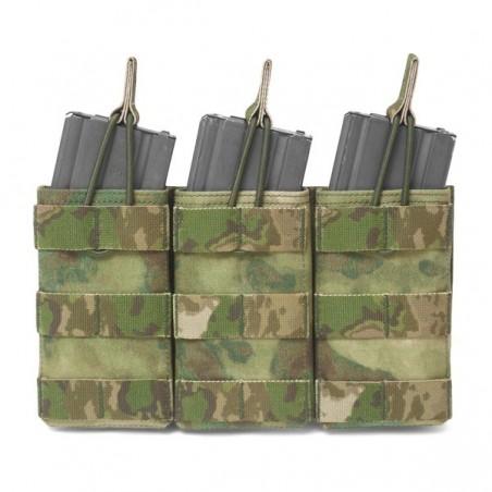 Triple MOLLE Open M4 5.56mm - A-TACS FG