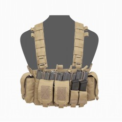 FCR Falcon Chest Rig - Coyote Tan