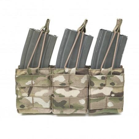 Triple Snap Mag Multicam