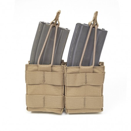 Double Snap Mag Coyote Tan