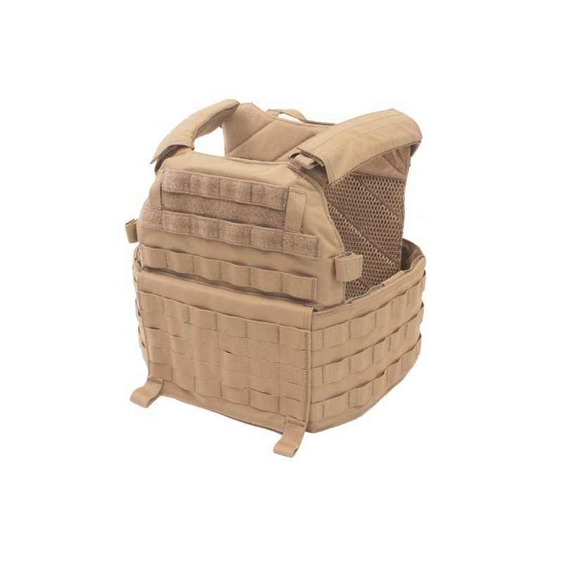 DCS Releasable Plate Carrier Base - Coyote Tan