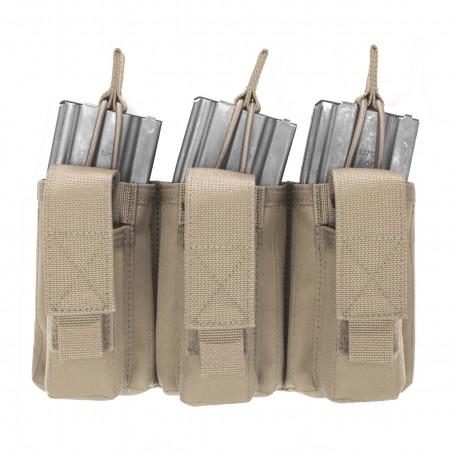 Triple MOLLE Open 5.56mm & 9mm - Coyote Tan
