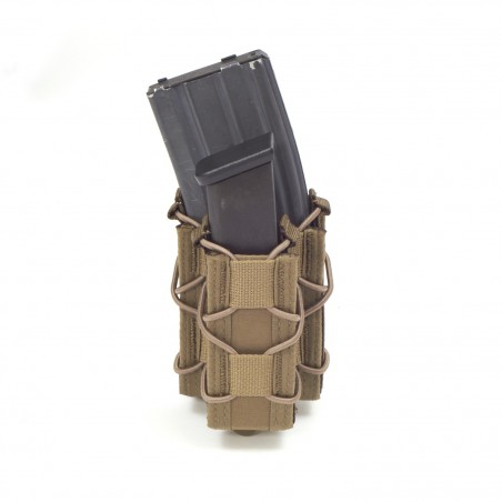 Single Quick Mag with single pistol - Coyote Tan