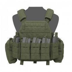 DCS DA 5.56mm Plate Carrier - Olive Drab