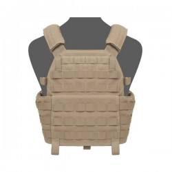 DCS SQM Plate Carrier - Coyote Tan