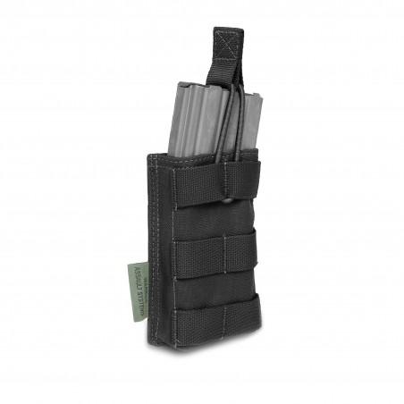 Single MOLLE Open Pouch 5.56mm - BLACK