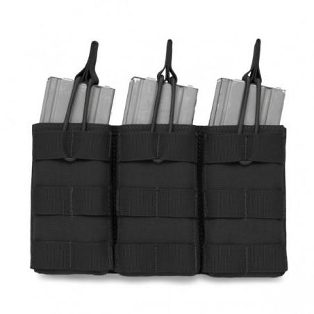 Triple MOLLE Open M4 5.56mm - Black
