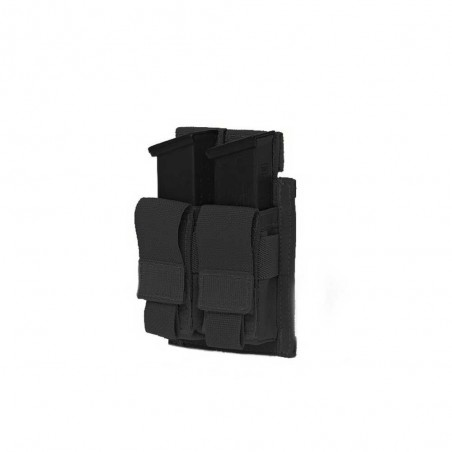Double Pistol Direct Action 9mm - Black