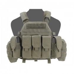 DCS M4 Plate Carrier- Ranger Green