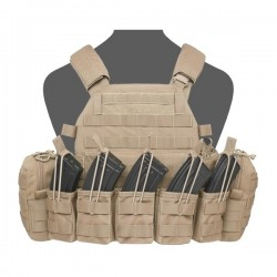 DCS AK 7.62mm Plate Carrier - Coyote Tan