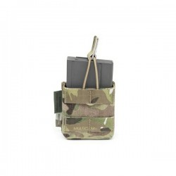Single MOLLE 7.62 x 51mm Open Short - MultiCam