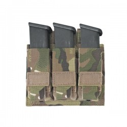 Triple Pistol Diract Action 9mm - MultiCam