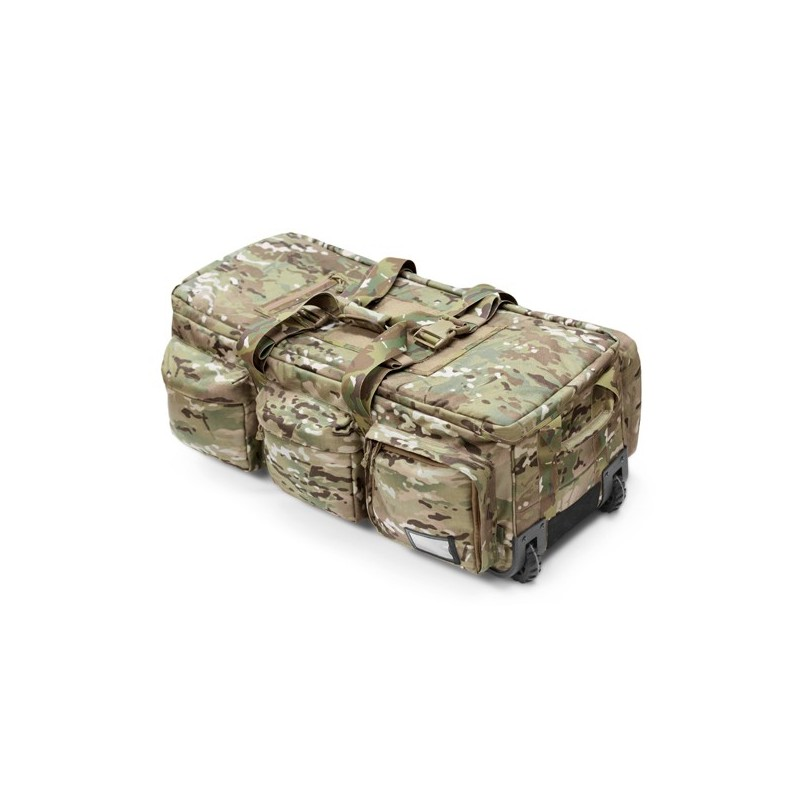 Elite Ops Deployment Bag on Wheels Multicam