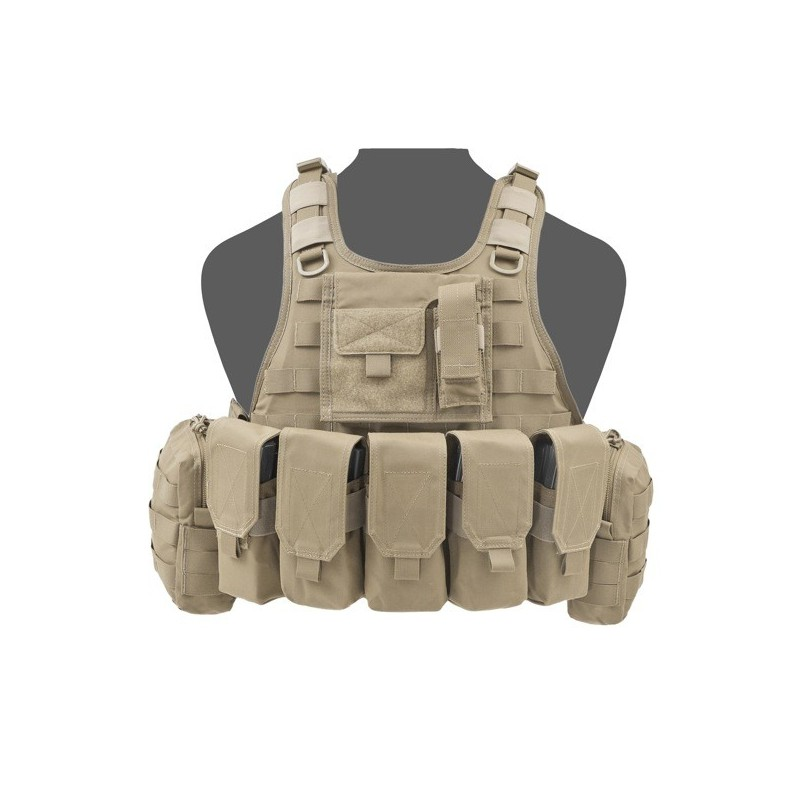 RICAS Compact M4 Plate Carrier - Coyote Tan