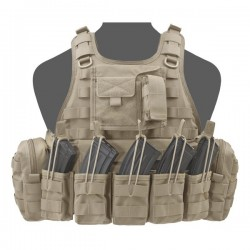 RICAS Compact AK Plate Carrier - Coyote Tan