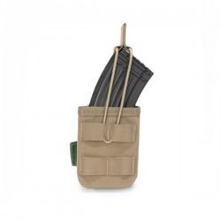 Single MOLLE Open AK 7.62mm - Coyote Tan