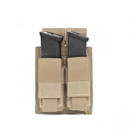 Double Pistol Direct Action 9mm - Coyote Tan