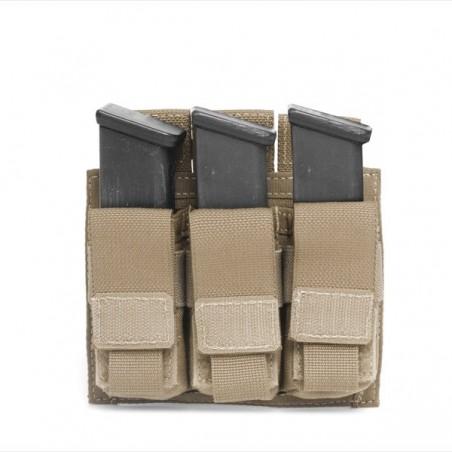 Triple Pistol Direct Action 9mm - Coyote Tan