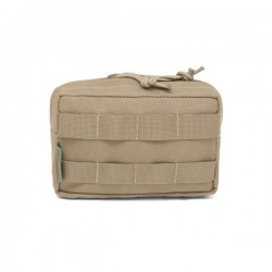 Small Horizontal MOLLE Pouch - Coyote Tan