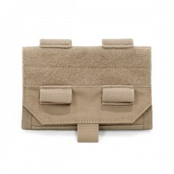Forward Opening Admin Pouch - Coyote Tan