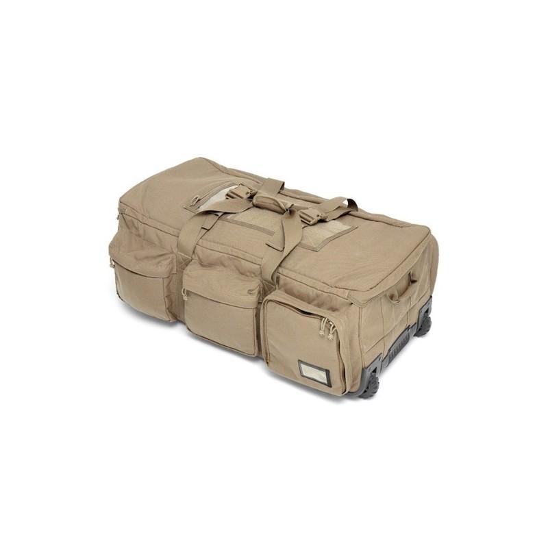 Elite Ops Deployment Bag on Wheels Coyote Tan