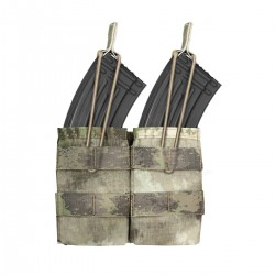 Double MOLLE Open AK 7.62mm - A-TACS AU