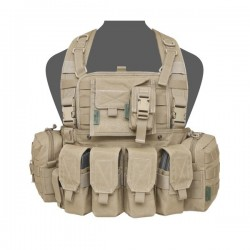 901 Elite Ops M4 Bravo Chest Rig - Coyote Tan