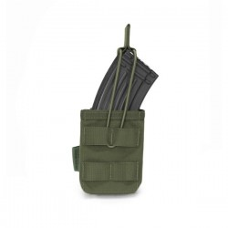 Single MOLLE Open AK 7.62mm - OD Green