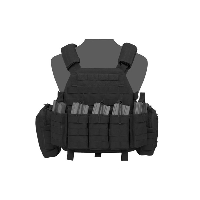 DCS DA 5.56mm Plate Carrier - Black