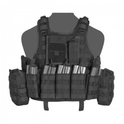 RICAS Compact DA 5.56mm Plate Carrier - Black