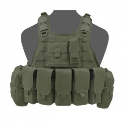 RICAS Compact M4 Plate Carrier - Olive Drab