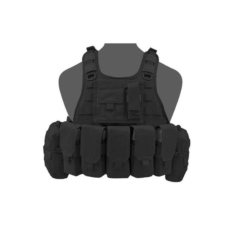 RICAS Compact M4 Plate Carrier - Black